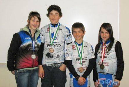 Cinq podiums pour l'Équipe cycliste Proco