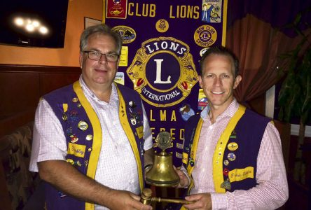 Nouveau président au Club Lions d'Alma