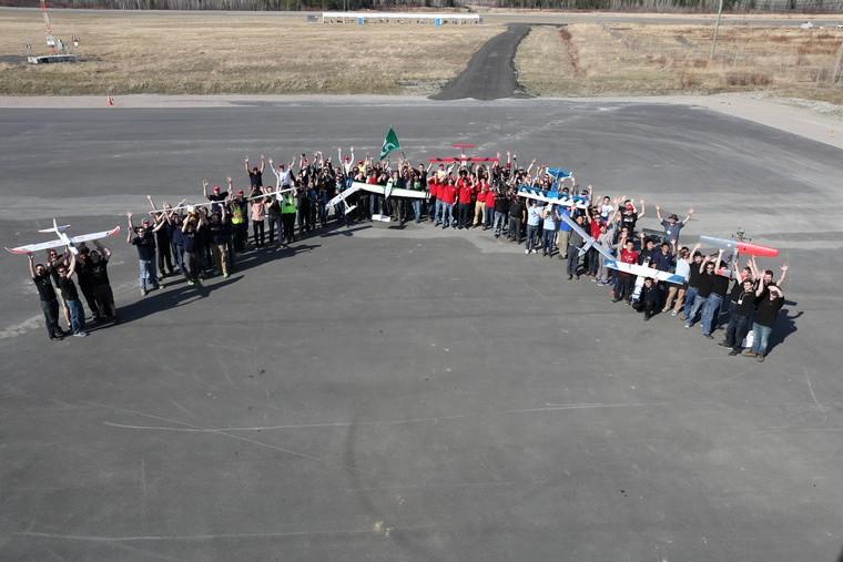 Compétition de drones: VAMUdeS – Université de Sherbrooke remporte les honneurs