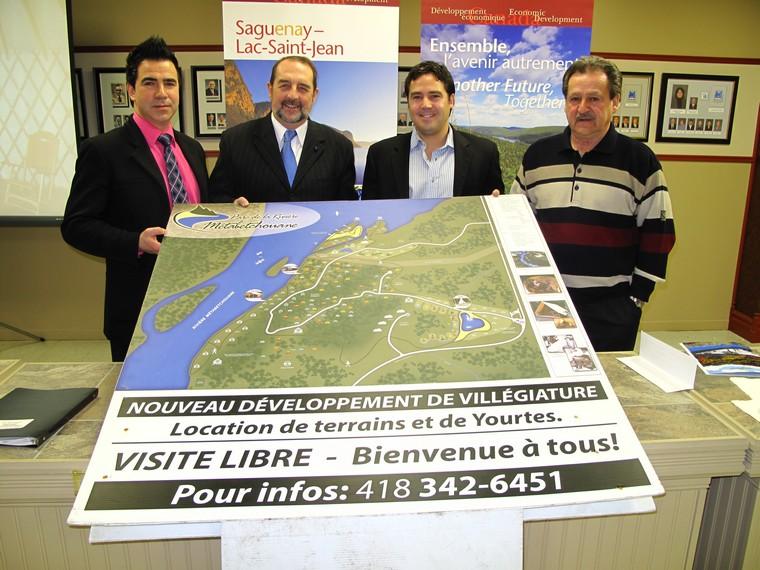 Le Glamping Parc Rivière Métabetchouane arrive