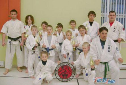 Le Club Bushido karaté récolte neuf médailles