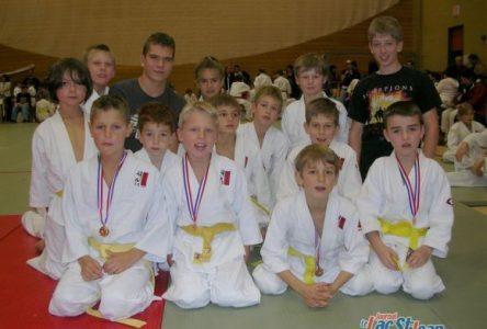 L'équipe de judo Seiko prend de plus en plus de place