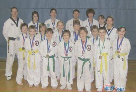 Les élèves de l'école de taekwondo d'Alma se signalent à Normandin