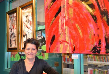 Louise Tremblay présente son travail artistique