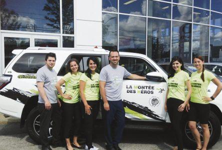 Alma Toyota Scion, FIER PARTENAIRE de la Montée des héros 2015