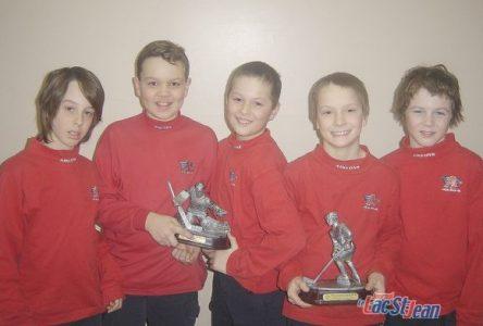 Plusieurs joueurs reçoivent des mentions lors des galas annuels fin de saison du hockey régional