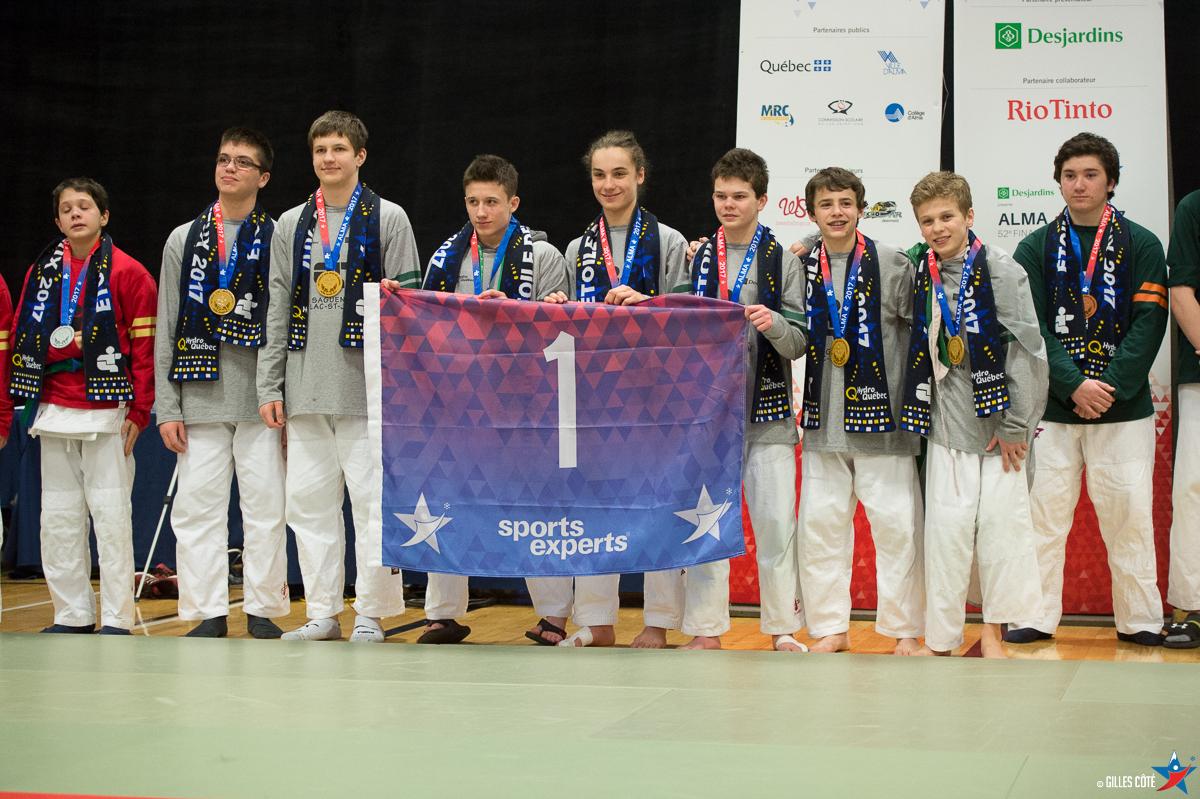 Le Saguenay-Lac-St-Jean termine avec 35 médailles
