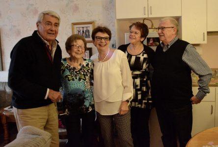EN RAPPEL : Michel Louvain invite sa plus grande admiratrice, Émilie, 99 ans