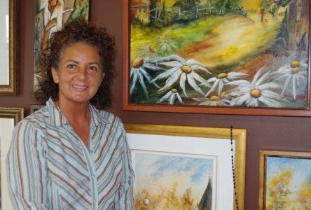 Sonia Maltais a exposé dans cinq villes françaises