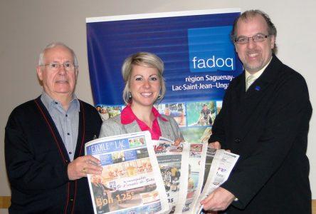 TC Média et la FADOQ, région Saguenay—Lac-Saint-Jean—Ungava deviennent partenaires au profit des 50 ans et plus de la région