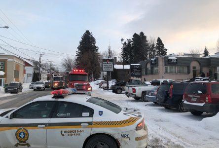 Fuite de monoxyde de carbone au centre-ville d'Alma : Fausse alerte