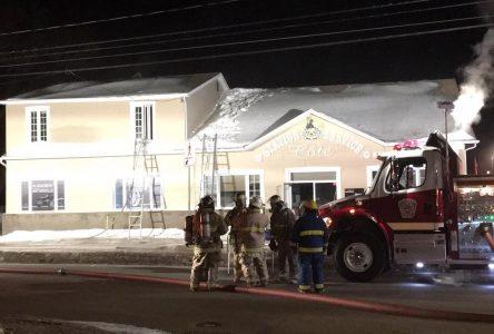 Incendie dans une station-service de Saint-Gédéon