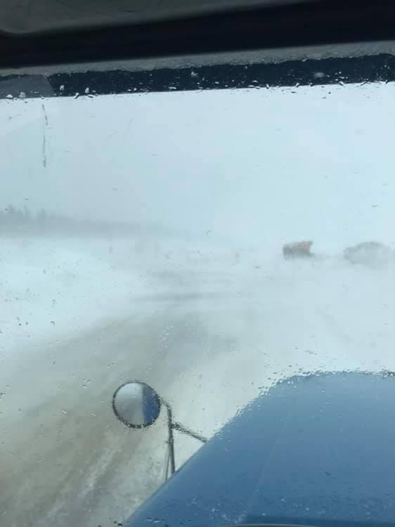 Les automobilistes ne voient ni ciel ni terre sur les routes