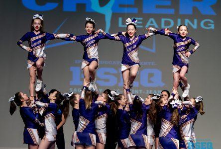 Compétition de cheerleading: Les Lynx du PWD se démarquent