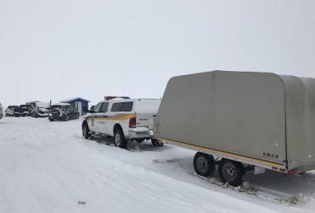 Un motoneigiste de 42 ans est porté disparu sur le lac Saint-Jean