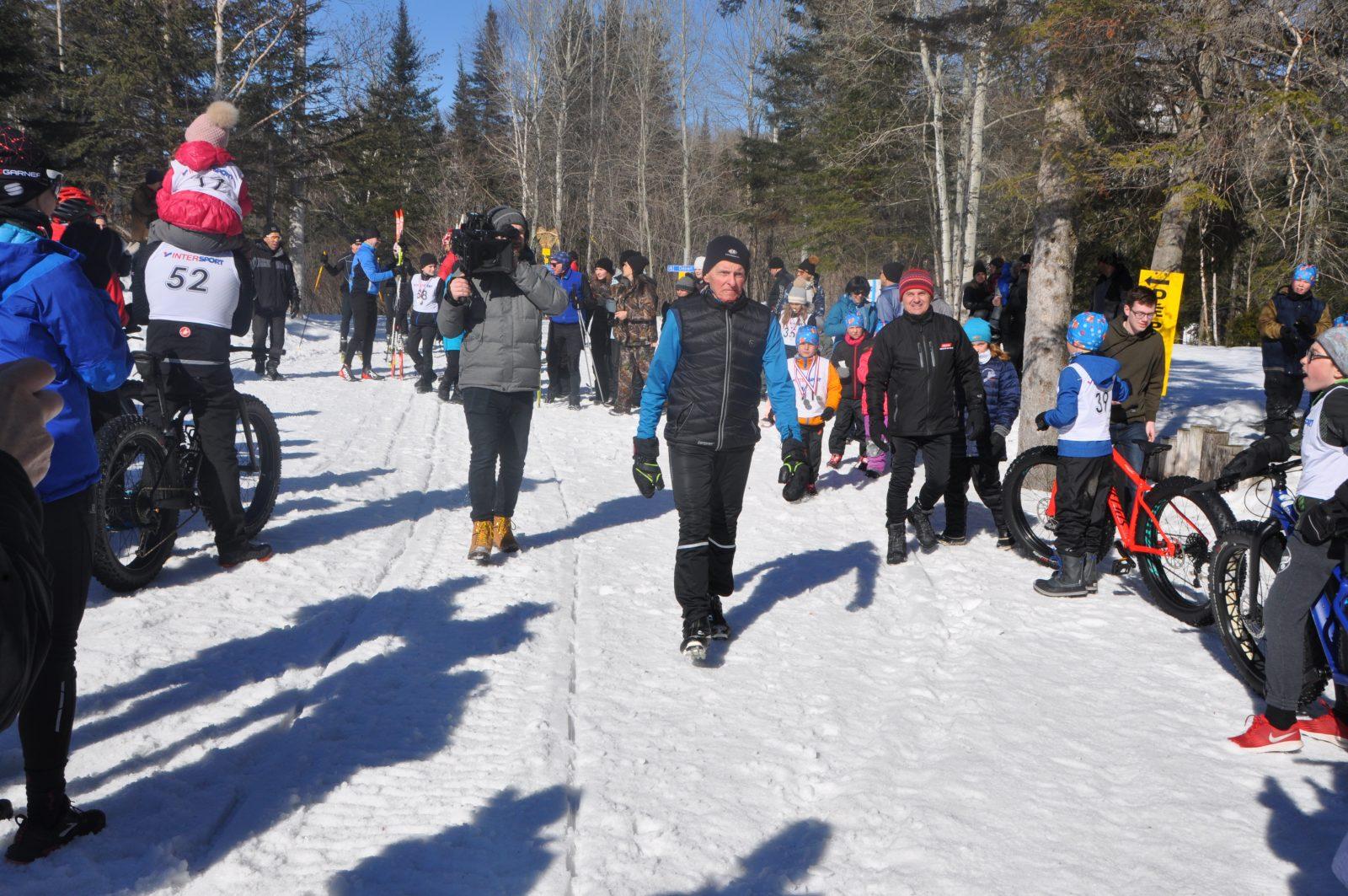 90 km de ski pour ses 90 ans et en mémoire de son épouse