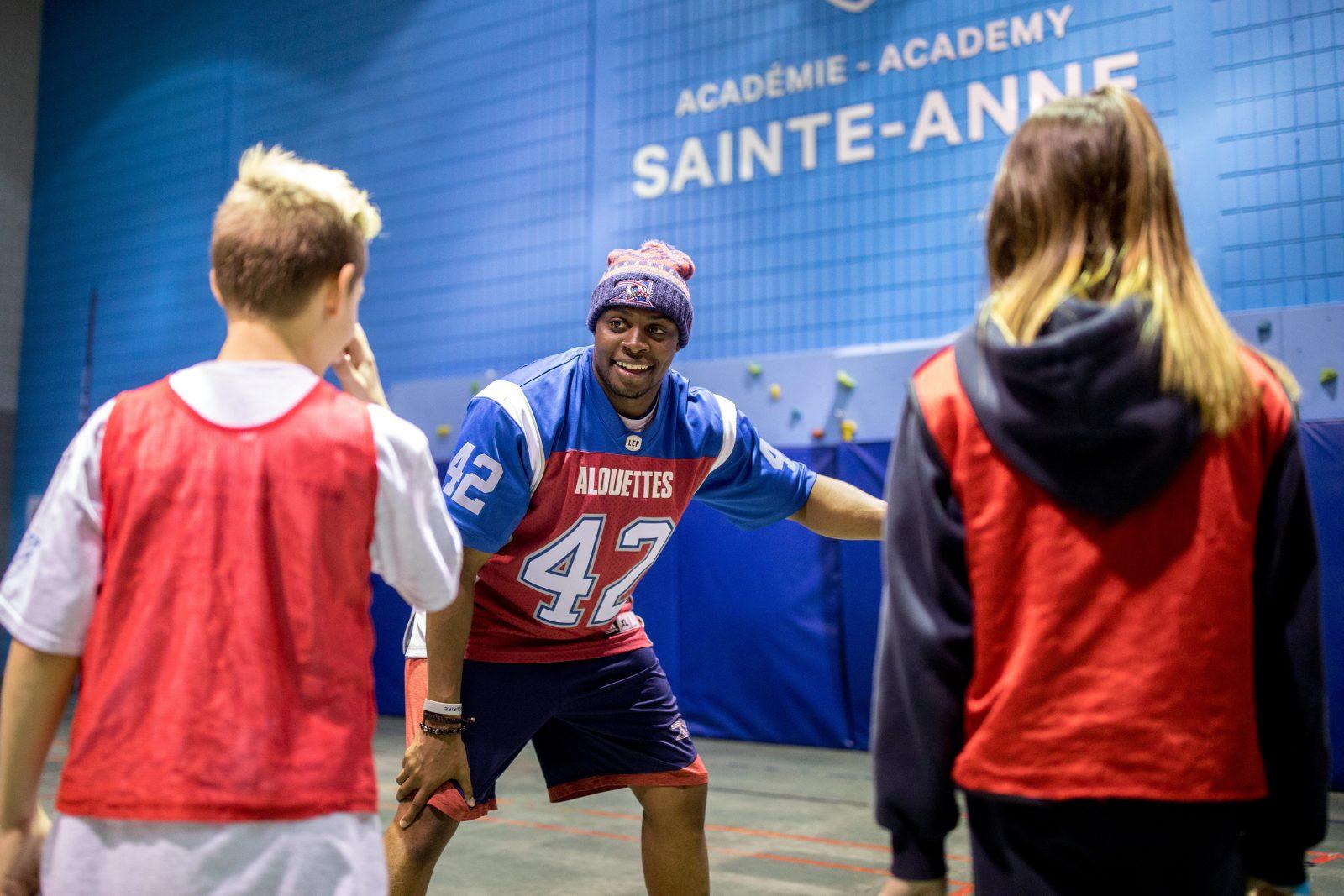 Les Alouettes de Montréal à Alma