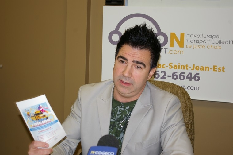 Nicolas Martel veut être maire d'Alma