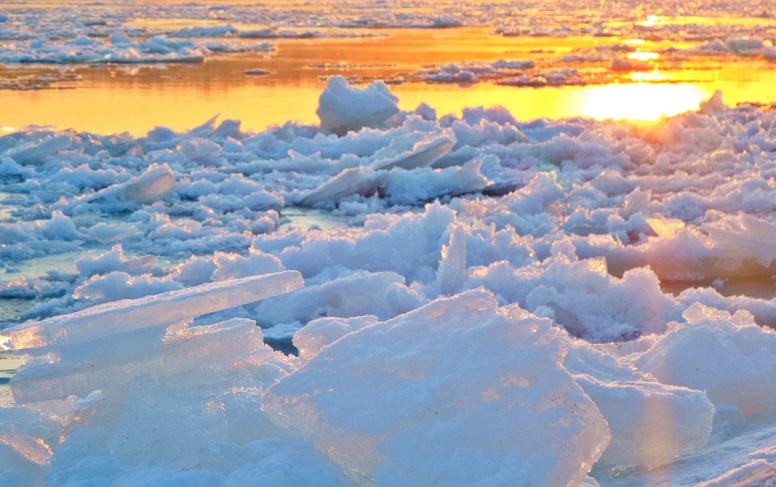 Le départ des glaces sera-t-il le 15mai à 14h30 ?