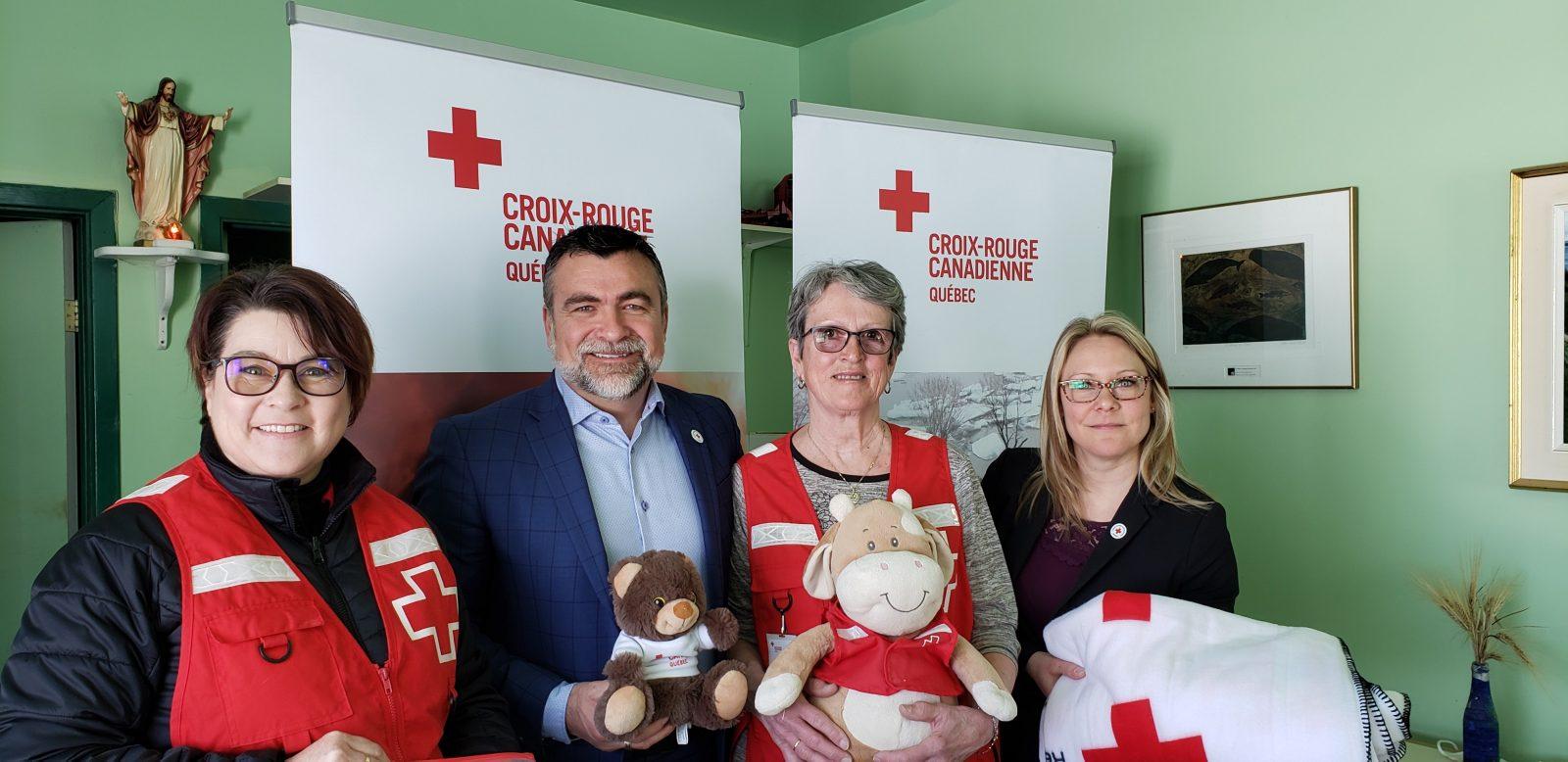 Croix-Rouge canadienne : Lancement de la campagne de financement annuelle