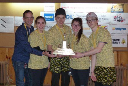 Tournoi de curling Ricken : Des équipes d'Alma récompensées