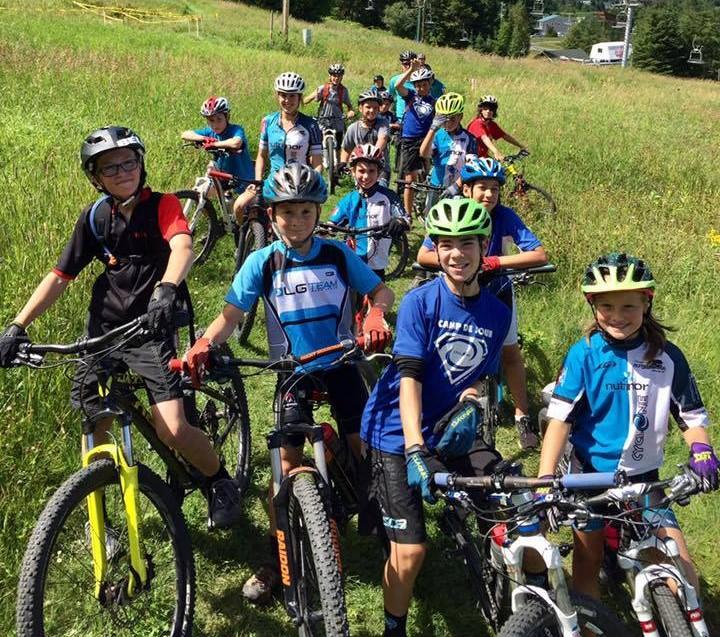 Vélo de montagne : Un sentier à la Pointe-des-Américains