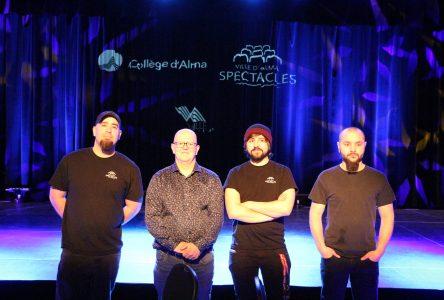 La Boîte à Bleuets et le Collège d'Alma relient leurs équipements sonores