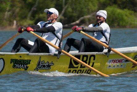 Samuel Lapointe et Nicolas Proulx vainqueurs de la 2e compétition de rames à Desbiens !
