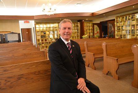 Résidence funéraire Lac-St-Jean: La chapelle baptisée au nom du bâtisseur Marc Richard