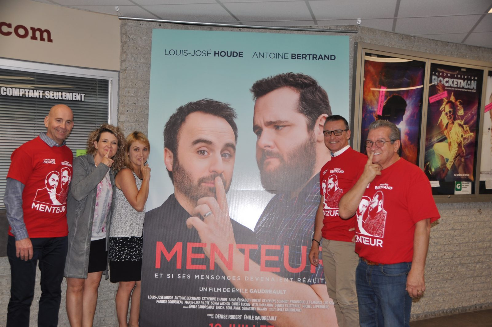 Lancement du film Menteur: Une première séance au profit d'une bonne cause