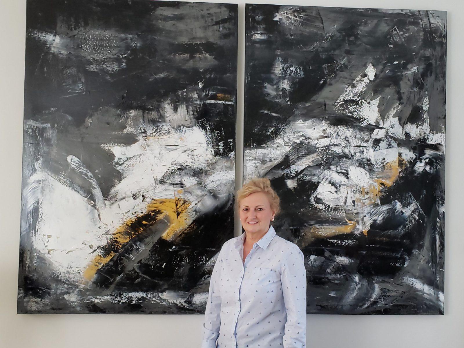 Édith Privé: Un été chargé pour l'artiste-peintre
