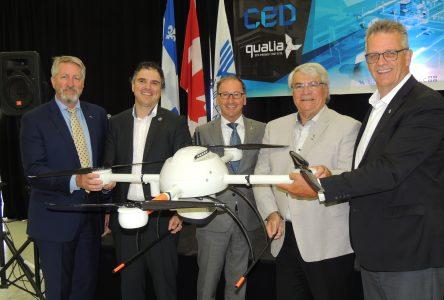 2,4 M$ pour l'implantation d'un site de simulation pour les drones: Alma consolide son rôle de leader au Canada