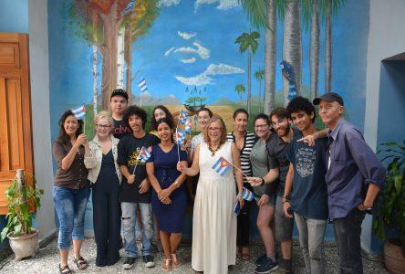 « Voir le son »: Un projet à Cuba inoubliable pour des étudiants du Collège d'Alma