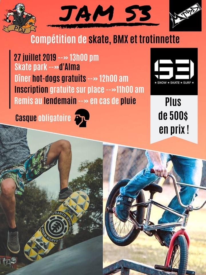 « Jam S3 » : Skate, BMX et trottinette à l'honneur ce samedi à Alma