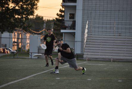 Ultimate frisbee: Diminution de popularité dans la région