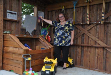 Parc Dollard: Un coffre à jouets communautaire maintenant accessible