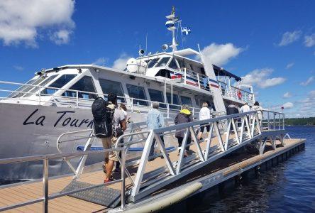 Le meilleur est encore à venir: Le bateau La Tournée a repris du service