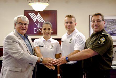 Cadets de la SQ: Une aide précieuse pendant l'été