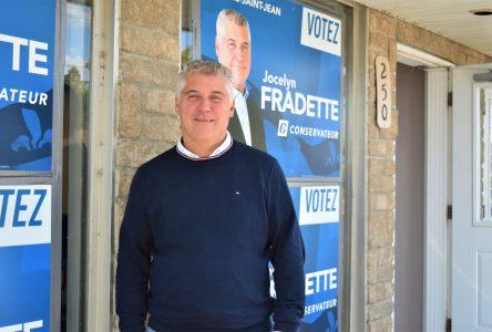 Élections fédérales: Les priorités de Jocelyn Fradette