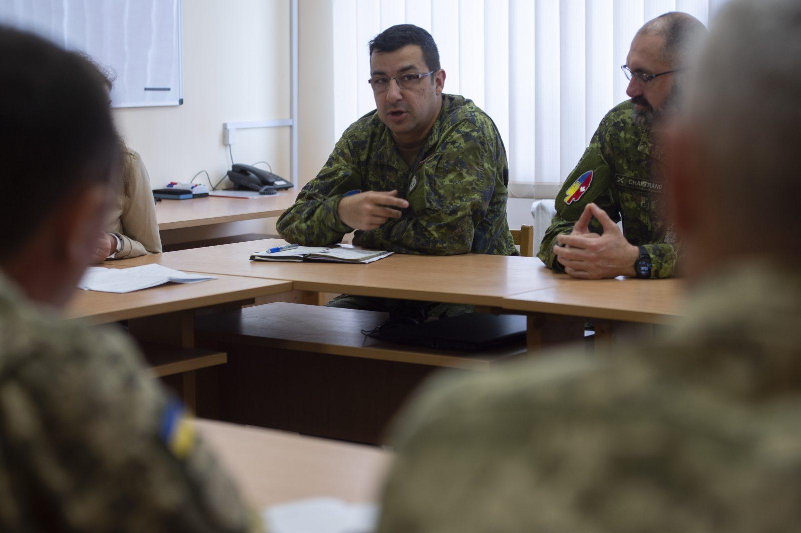 Militaire originaire del'Ascension-de-Notre-Seigneur: Jean-Pierre Noël aide à la réforme des Forces armées ukrainiennes