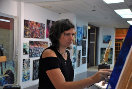 Aurélie Bouchard: Près de 200 peintures exposées à la Plaza d'Alma
