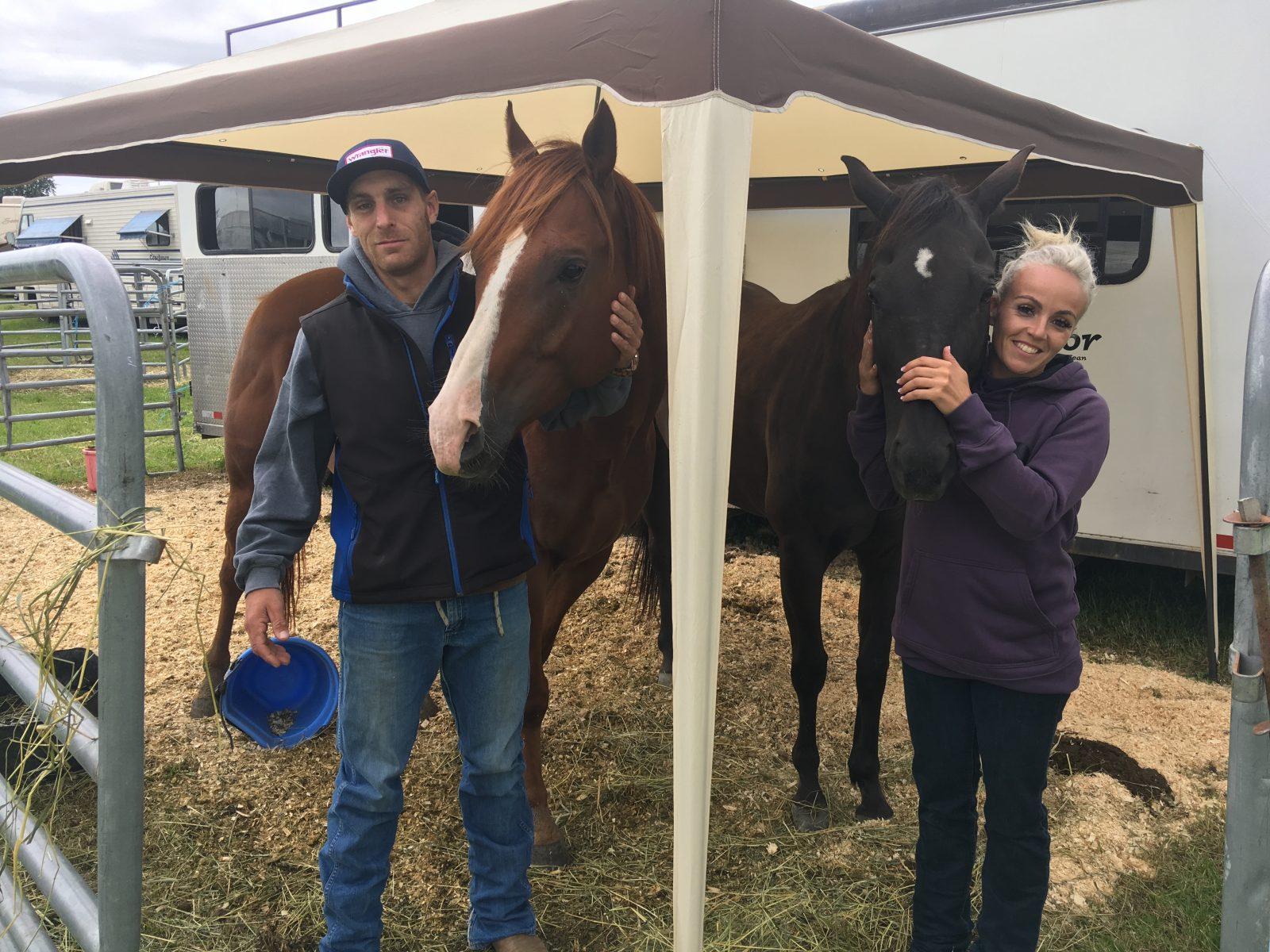 Festival Western Saint-Tite: Benjamin Turgeon et Julie Plourde sont retour cette année!