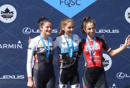 Championnats québécois de route Espoirs: Justine Tremblay remporte le critérium
