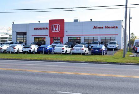Alma Honda: Plus de 1 M$ pour des rénovations majeures