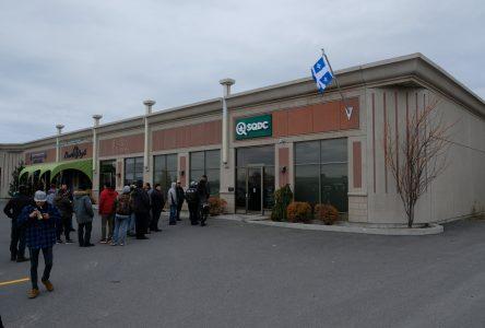 La SQDC ouvre ses portes à Alma