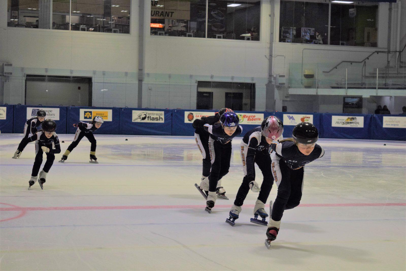 Club de patin de vitesse Les Satellites d'Alma: Une bonne saison en vue