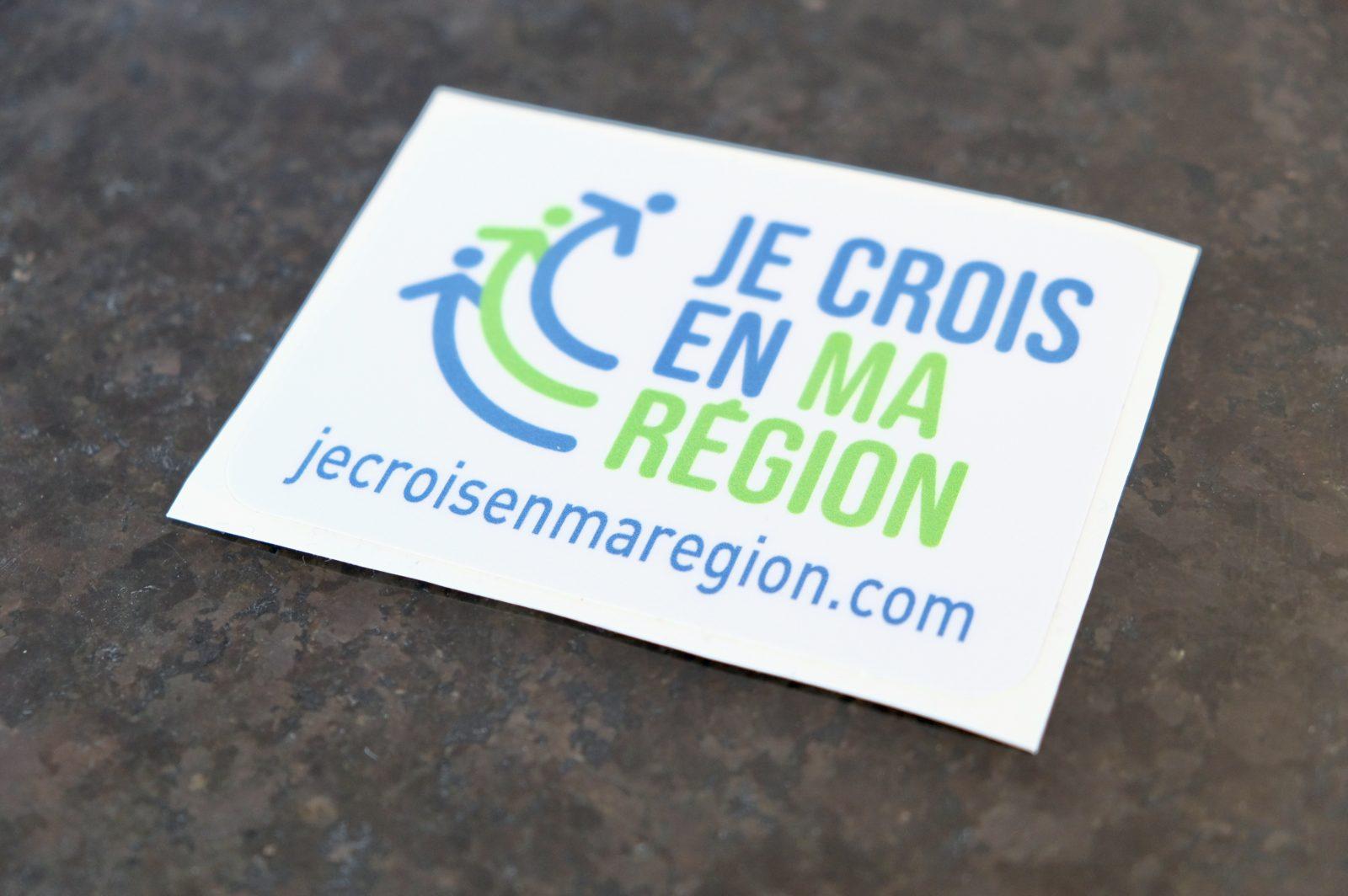 «Je crois en ma région» critiqué