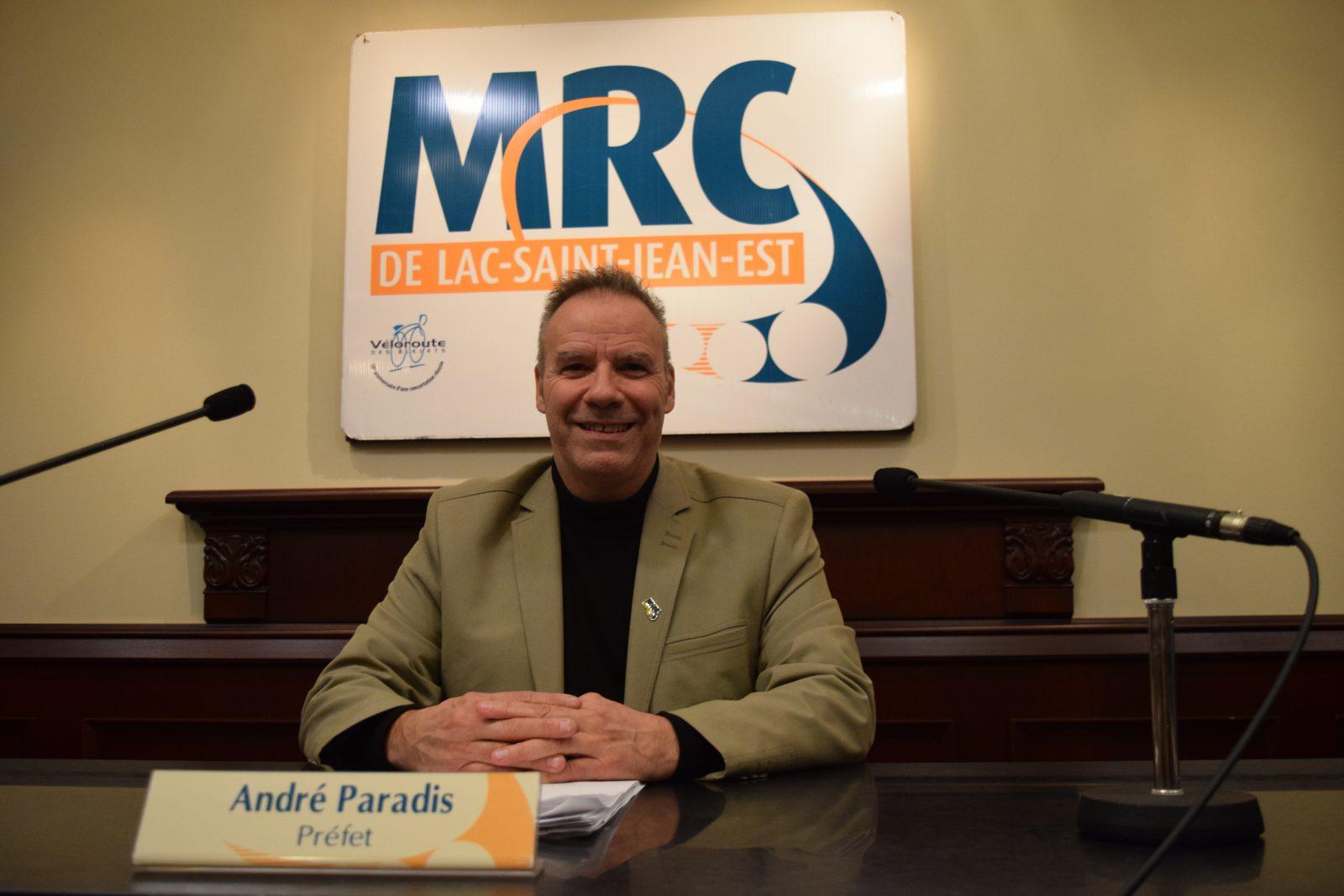 MRC Lac-St-Jean-Est : André Paradis demeure préfet