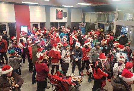 200 personnes pour la 8e édition du jogging du Père Noël