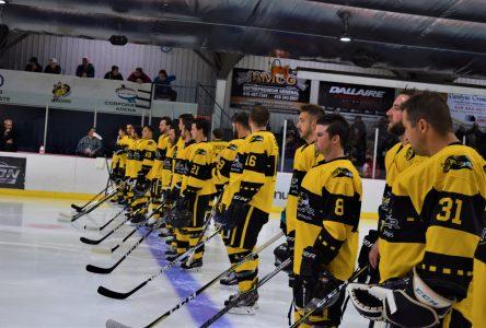 Hockey senior: Un bilan de mi-saison satisfaisant pour Saint-Bruno